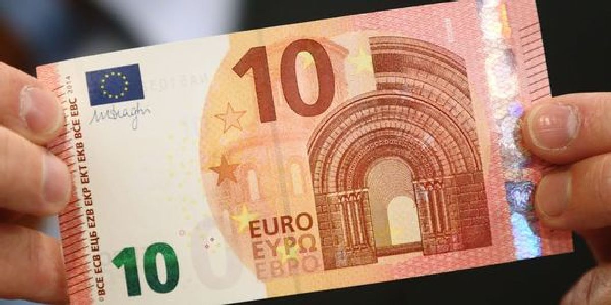 Le nouveau Billet de 10 Euros