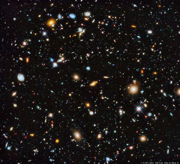 10,000 galaxies on a single photo: the fascinating cliché of Hubble worthy of a work of art