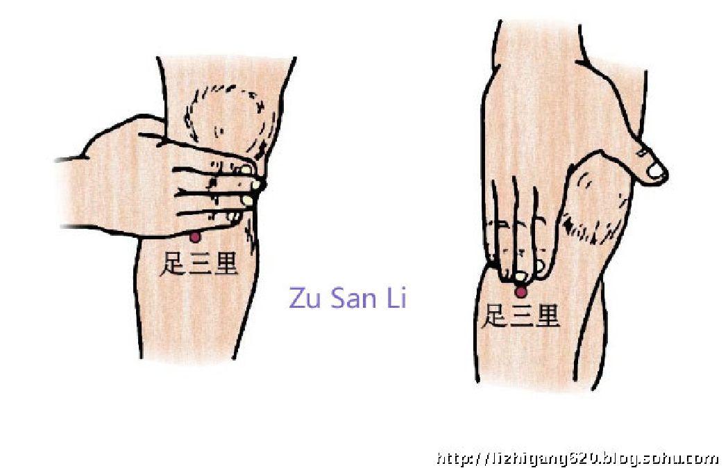 Zu San Li, le point des centaines de maladies : Voici ce qui se passe quand vous le massez !