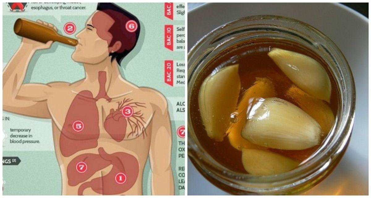 Voici ce qui se passe quand vous mangez de l'ail et du miel l'estomac vide pendant 7 jours