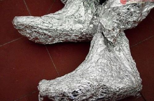 Connaissez- vous l'effet du papier aluminium sur votre corps ?Apres avoir lu ça vous ne cesserez plus de l'utiliser !