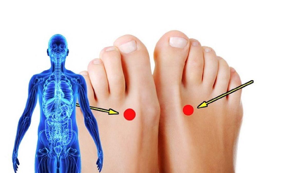 Pourquoi vous devriez appuyer sur ce point sur votre pied pendant 2 minutes