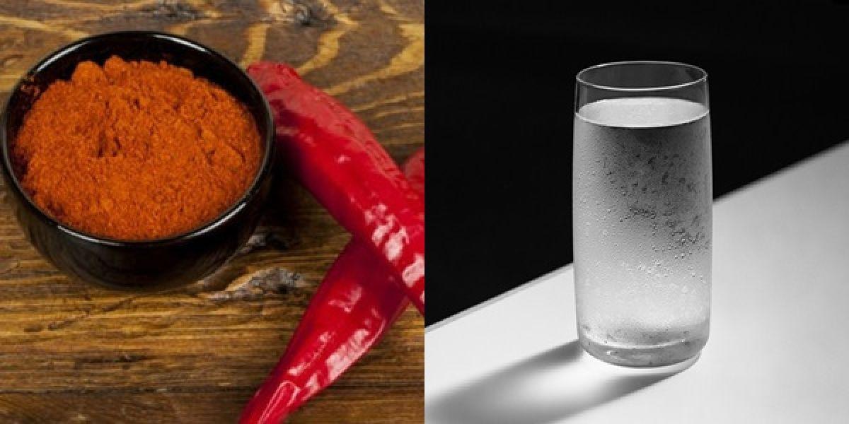 Mélangez de l'eau avec du piment de Cayenne et buvez, un miracle se produira dans 10 secondes !