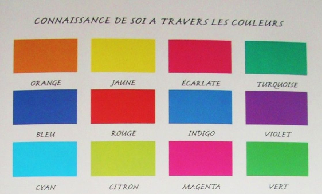 L'exercice des couleurs qui va vous aider à mieux vous connaitre
