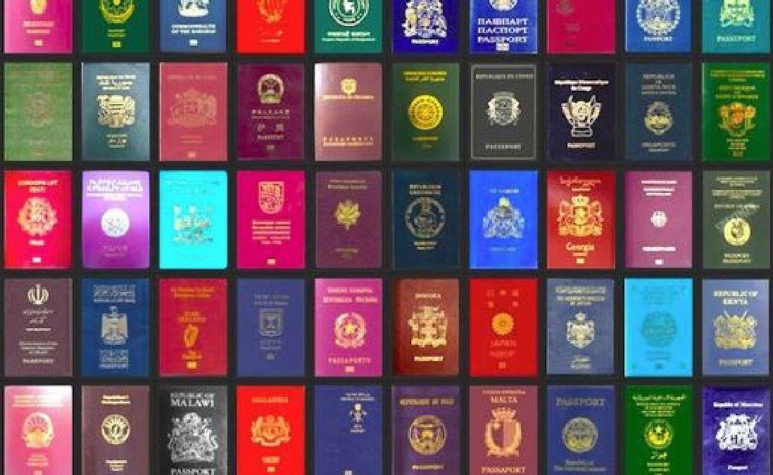 Que signifie la couleur de votre passeport