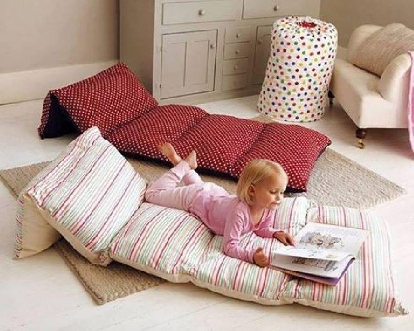 fabriquez un coussin de sol pour vos enfants il n y a rien de plus facile. Black Bedroom Furniture Sets. Home Design Ideas