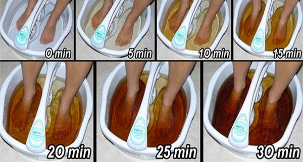 Comment désintoxiquer votre corps par les pieds en 30 minutes