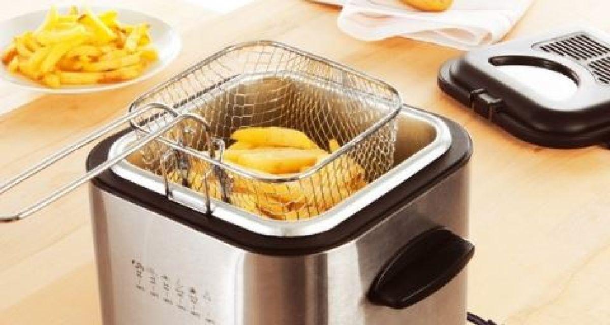 astuce pour nettoyer votre friteuse lectrique facilement. Black Bedroom Furniture Sets. Home Design Ideas