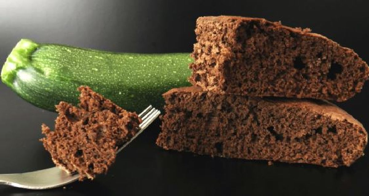 La recette d'un gâteau chocolat courgette sans beurre ni farine