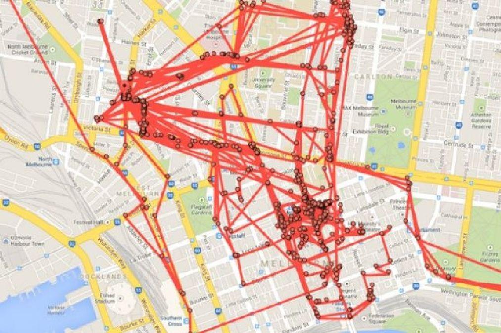 Attention, Google Maps suit chacun de vos mouvements :Ce site vous le prouve !