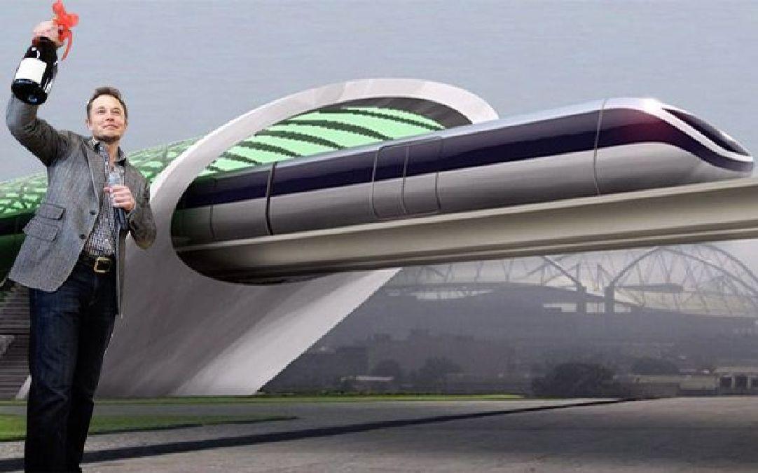 Hyperloop, transport supersonique
