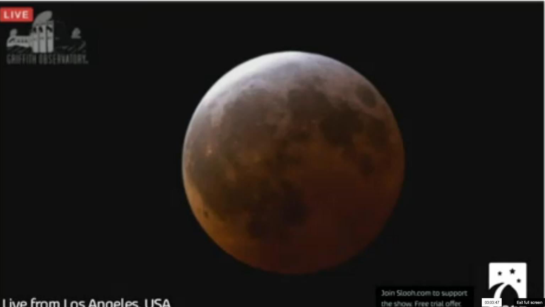 Suivez en direct La plus grosse super Lune depuis 1948  ( Full HD )Supermoon Live Stream