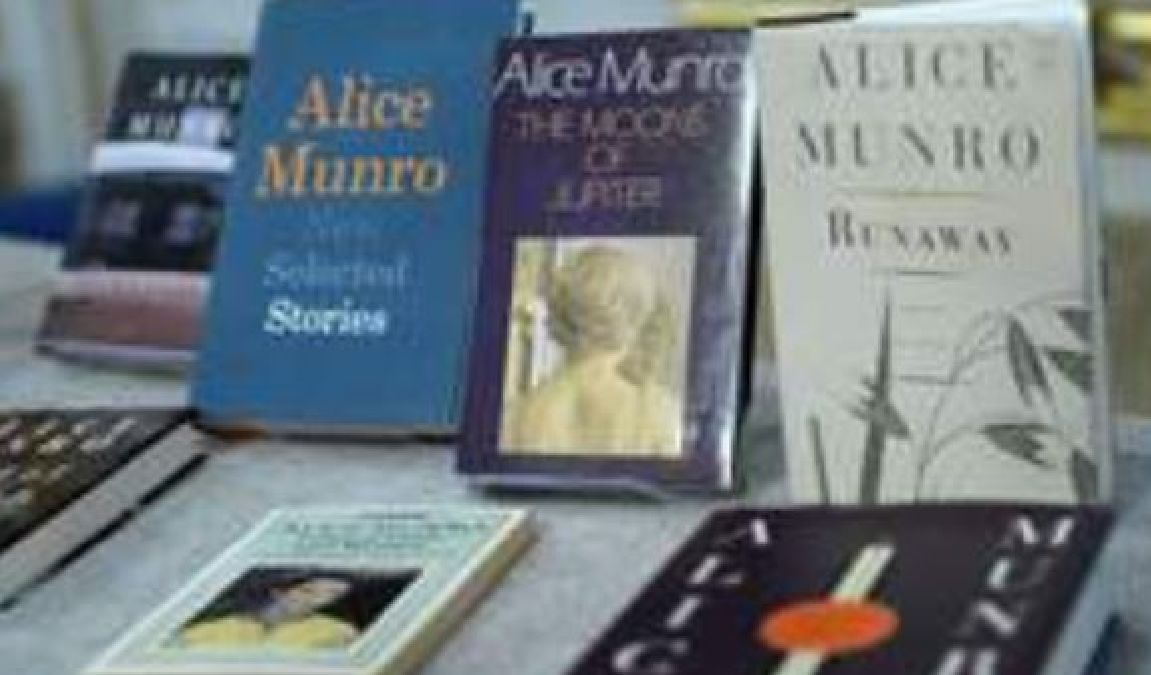 Le prix Nobel de littérature à la Canadienne Alice Munro