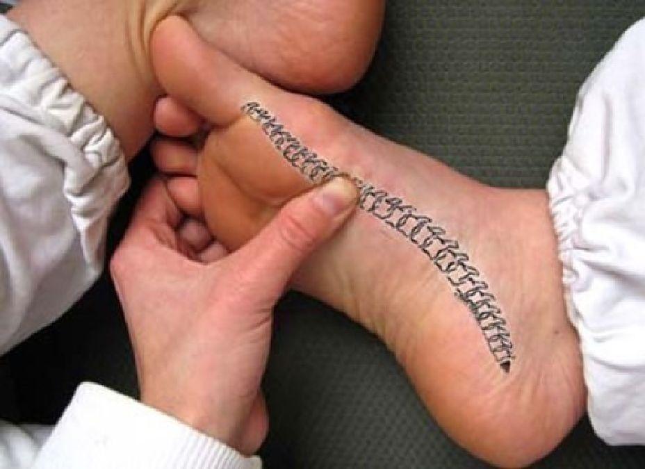 Comment se débarrasser des maux de dos en vous massant le pied