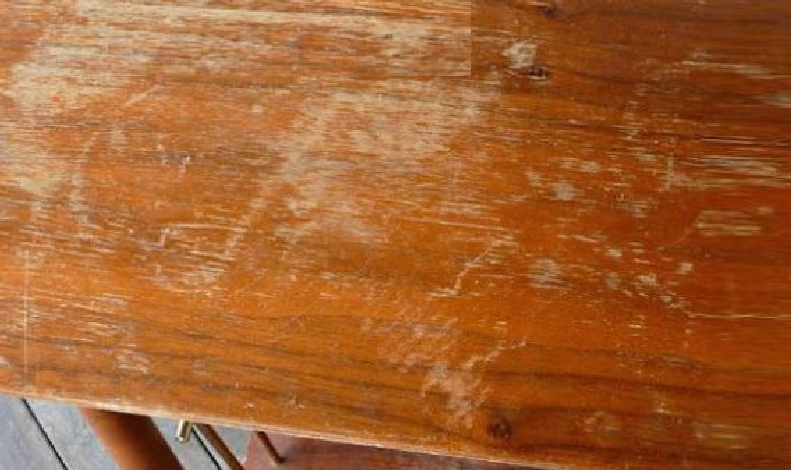Faites disparaître les rayures sur les meules grâce à cette astuce !