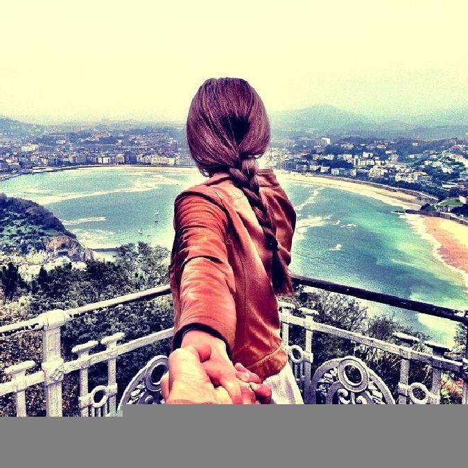 Un photographe suit sa copine autour du monde, et ca donne ceci.