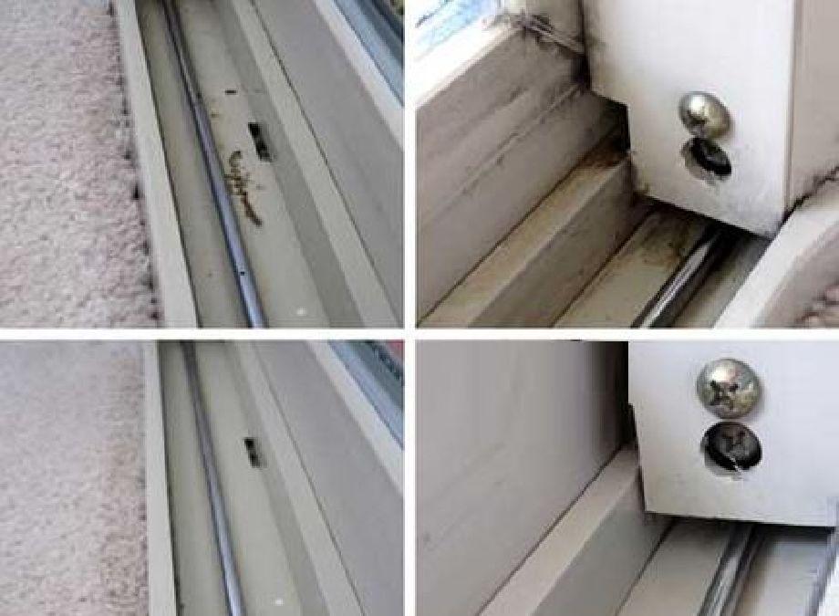 Astuce facile pour nettoyer les rails de vos fenêtres !