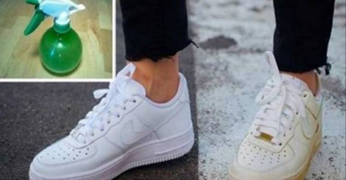 Astuce simple pour nettoyer vos chaussures blanches sales!