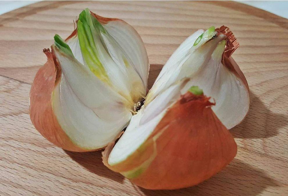 Coupez un oignon entier en 4 morceaux et placez-le dans votre maison. La raison? Brillante!