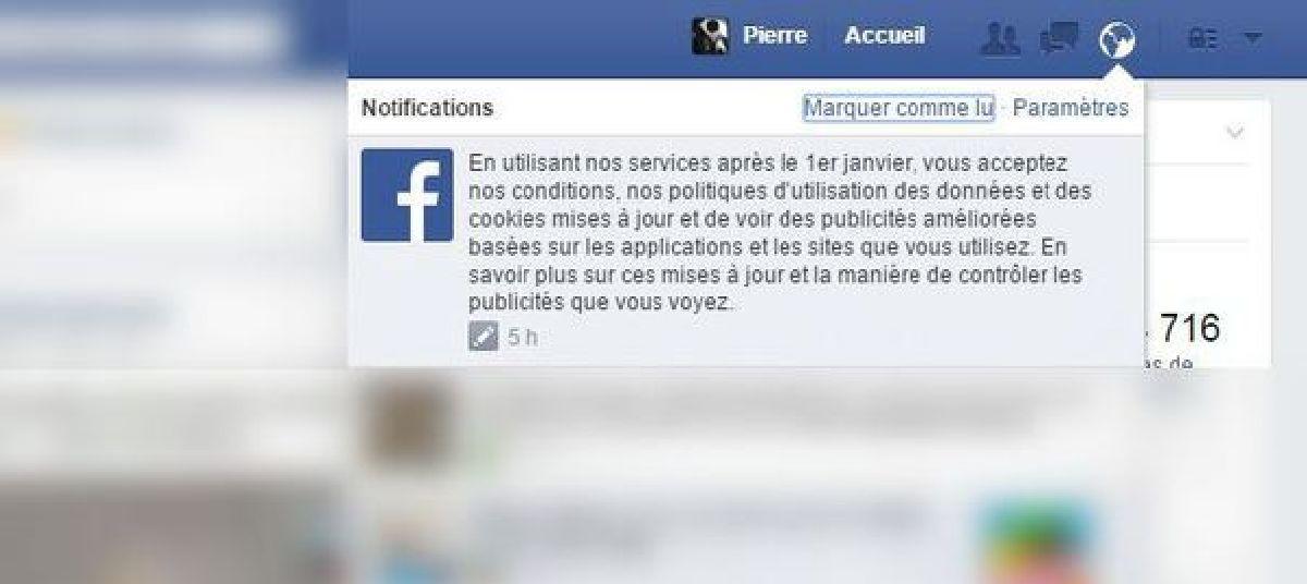Découvrez la face cachée de la nouvelle politique de confidentialité de Facebook