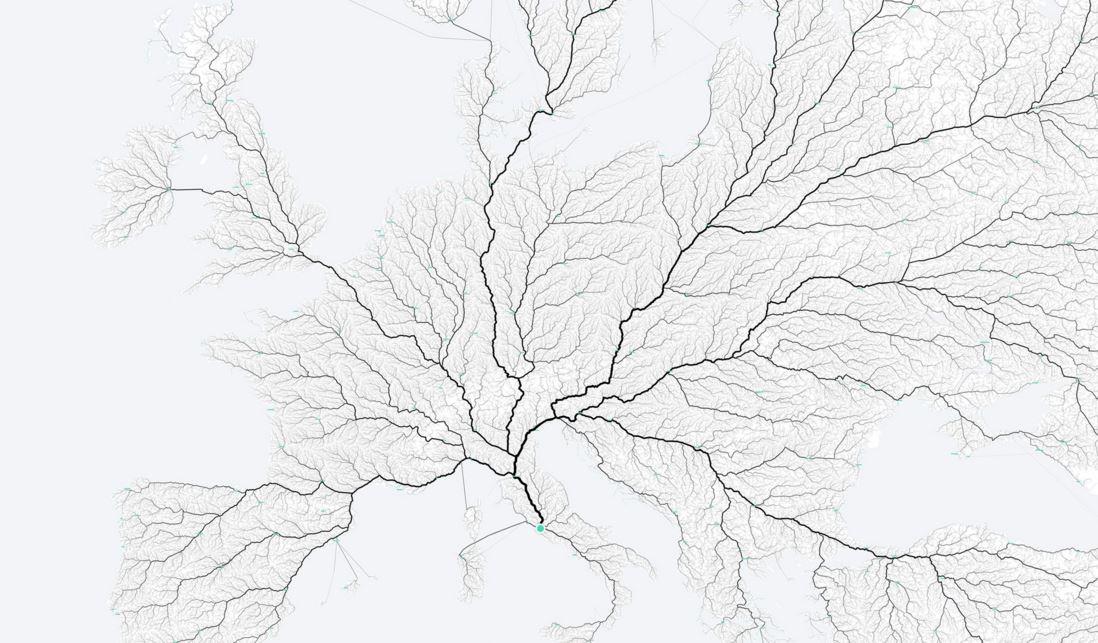 C'est prouvé : toutes les routes mènent à Rome