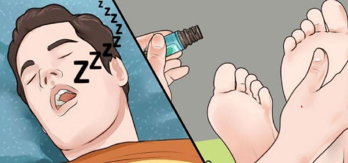 Mettez cette huile sur vos pieds 10 min avant de dormir et regardez les incroyables effets