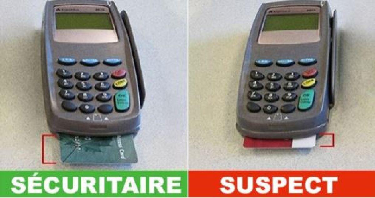 Faites très Attention à ceci lorsque vous payez avec votre carte de crédit ou de débit.