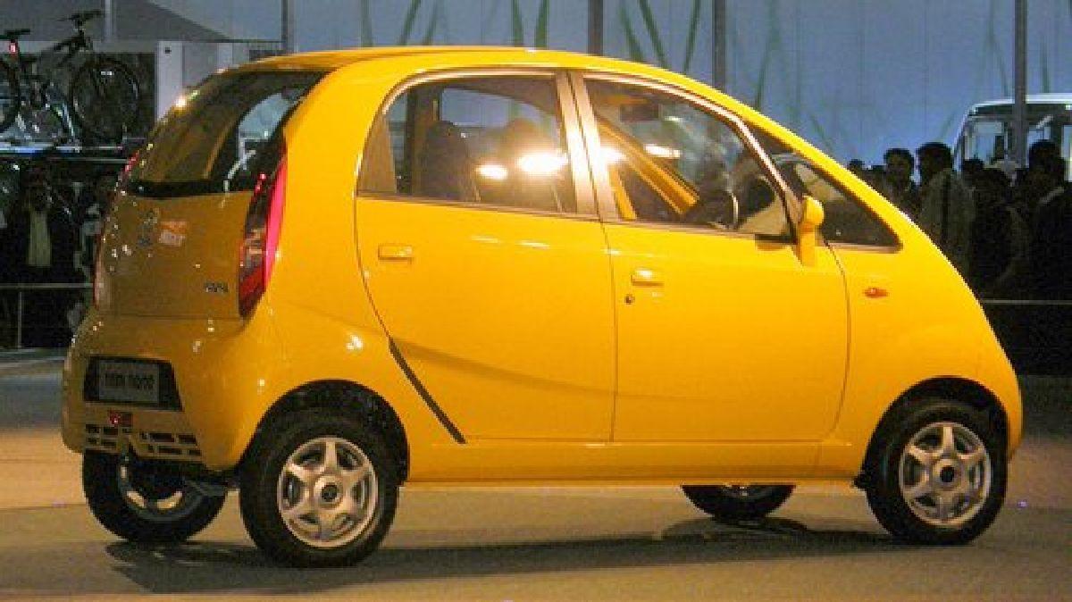 Tata Nano est la voiture la moins chère du monde