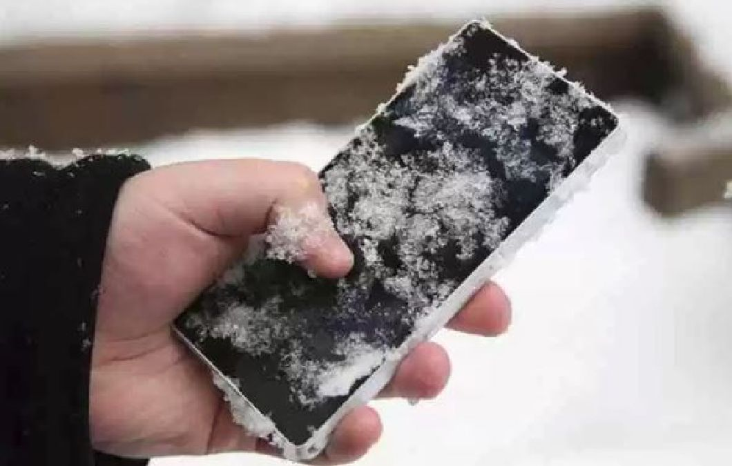 Pourquoi votre téléphone s'éteint à des températures négatives ?