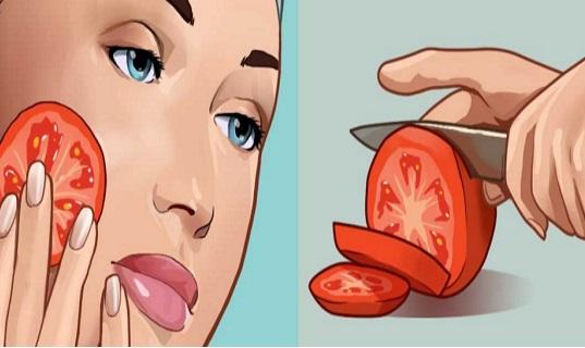 Si vous frottez une tomate coupée sur votre visage pendant 3 secondes, voici ce qui arrive