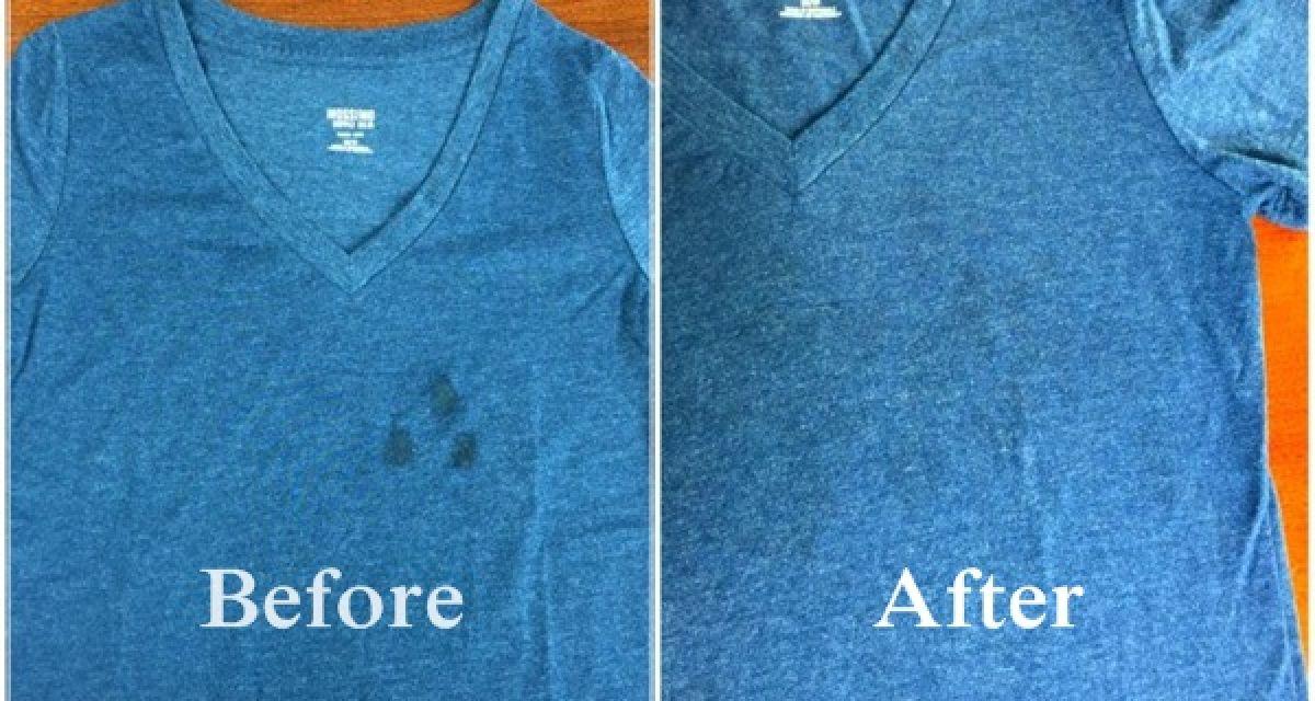 Ne jetez pas vos vêtements tâchés d'huile avant d'avoir essayé cette méthode
