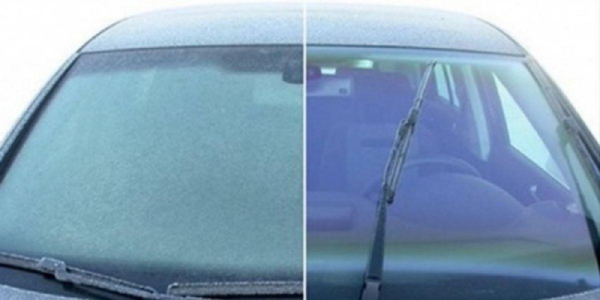 Voici comment éliminer le gel de votre pare-brise en seulement 60 secondes
