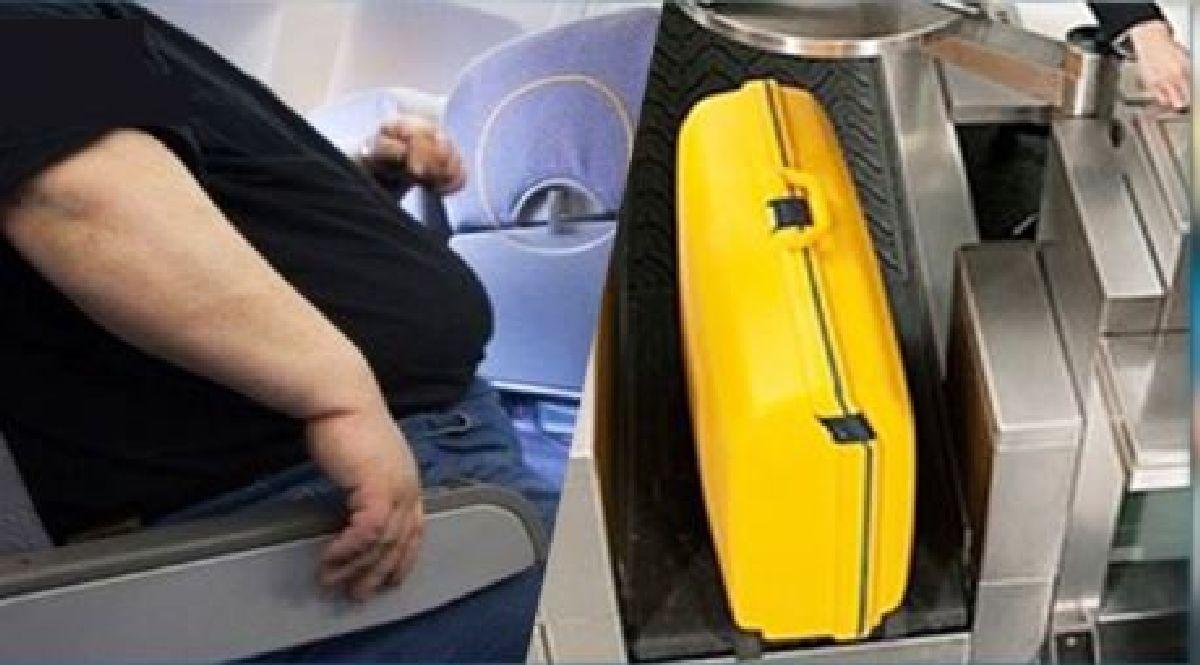 Aberrant :Le poids du voyageur en avion sera pris en compte comme excédent de bagage !!